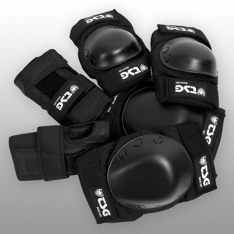 Chrániče TSG - Basic-Set Black S