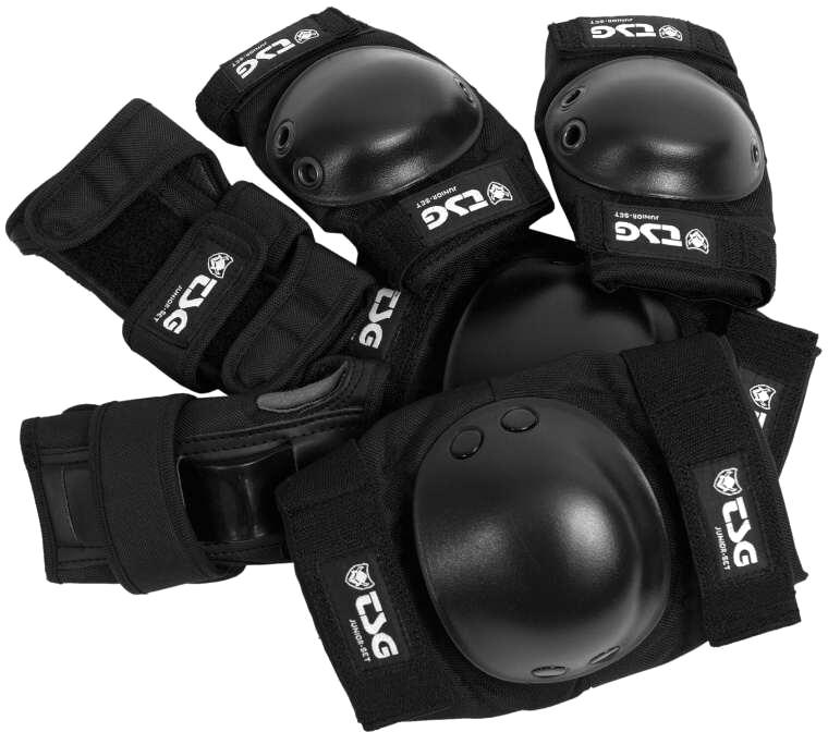 Chrániče TSG - Junior-Set Black