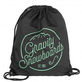 Gymsack Gravity Connie cinch bag black