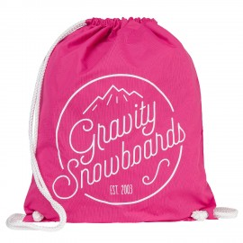 Gymsack Gravity Connie cinch bag pink