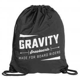 Gymsack Gravity Jeremy cinch bag black