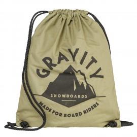 Gymsack Gravity Peak cinch bag canvas
