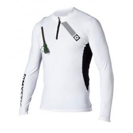 Lycra Mystic SUP Rash Vest L/S white Hydropack