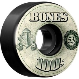Kolečka Bones 100's OG Formula 54x34 V4 Black