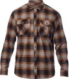 FOX Pánská košile Traildust Flannel - Heather Graphite