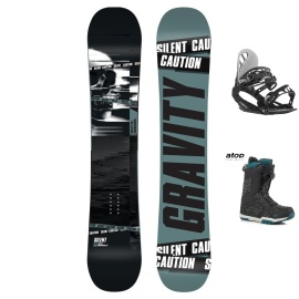 Snowboardový komplet Gravity Silent