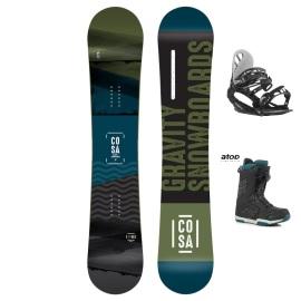 Snowboardový komplet Gravity Cosa