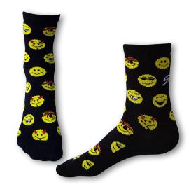 Ponožky Styx Crazy emoji