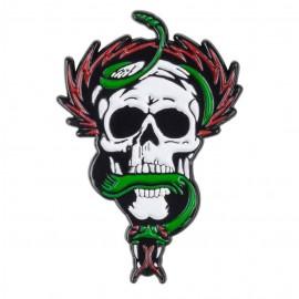 Připínací odznak Powell Peralta Skull and Snake Lapel Pin