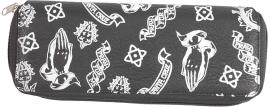 Peněženka/Pouzdro SANTA CRUZ - Pray Pattern Black