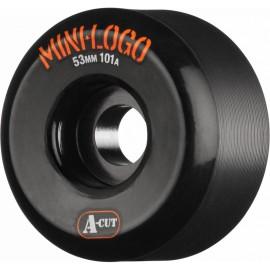 Kolečka Mini Logo A-cut Wheel 53mm 101a Black