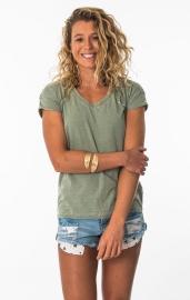 Dámské triko Mystic Naura Tee Seasalt Green