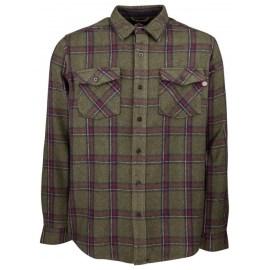 INDEPENDENT Pánská košile Chainsaw Shirt - Military Plaid
