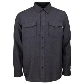 INDEPENDENT Pánská košile Chainsaw Shirt - DARK HEATHER