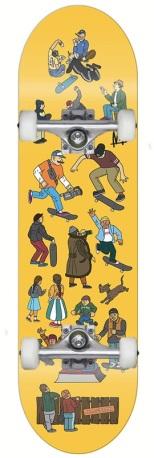 Skateboard Ambassadors Skatepark 7.875 x AMB HW