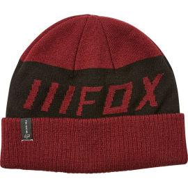 Zimní kulich Fox DOWN SHIFT BEANIE - Cranberry