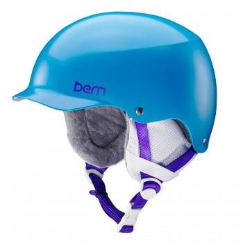Dámská helma Bern Team Muse satin ocean blue L