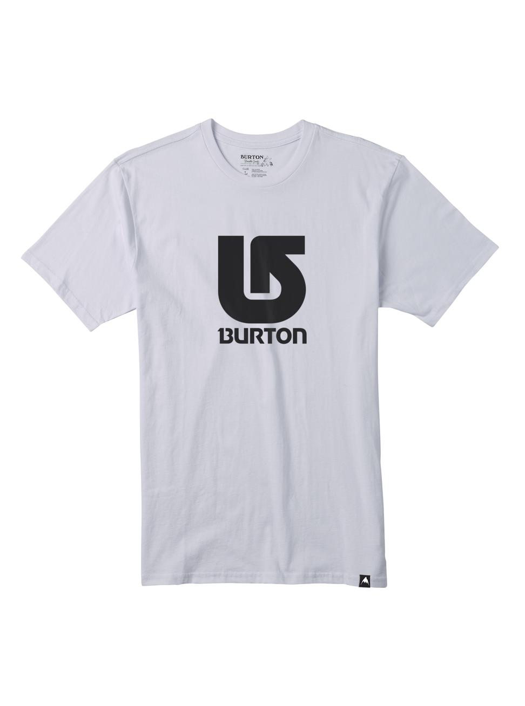 Pánské triko Burton MB LOGO VRTCL SS STOUT WHITE L