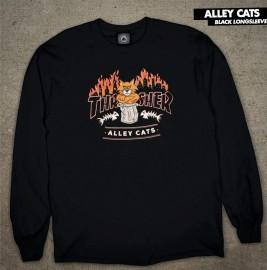 Triko Dl.rukáv Thrasher Alley Cats L/S Spring 21