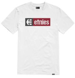 Triko ETNIES New Box - white