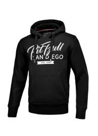 Mikina KP s kapucí PitBull West Coast EL JEFE - černá