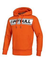Mikina PitBull West Coast KP POTOMAC - oranžová