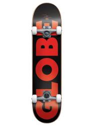 "Skate komplet G0 Furbar 7.75"" Black/red"