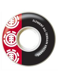 Kolečka ELEMENT SECTION RED 52