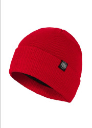 PitBull West Coast zimní čepice SMALL LOGO - červená