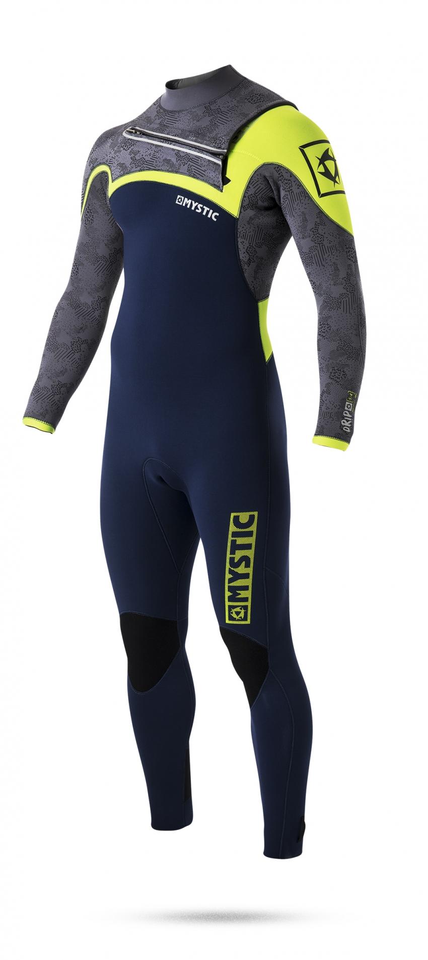 Neoprenový oblek Mystic Drip 5/4 D/L Fullsuit, Navy L