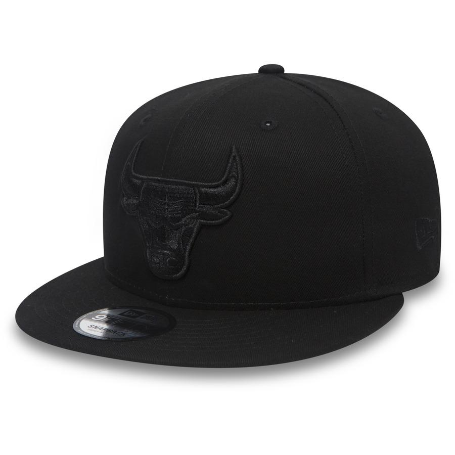 Kšiltovka New Era 950 NBA Chicago Bulls Black On Black S/M