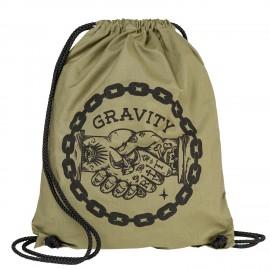 Gymsack Gravity Handshake cinch bag canvas