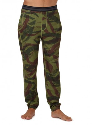 Pánské termo kalhoty Burton exp pt Brush Camo XL