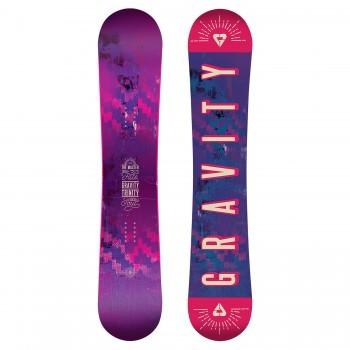 Dámský snowboard Gravity Trinity 148
