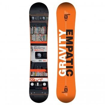 Pánský snowboard Gravity Empatic 160