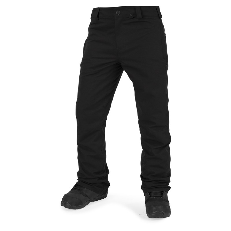 SNB kalhoty Volcom Klocker Tight Pants - černé - Skateshop 1365cb7ddf7
