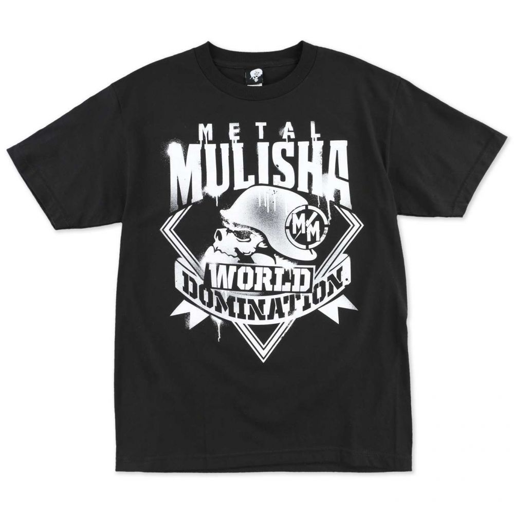 Pánské triko Metal Mulisha MIST - černé L