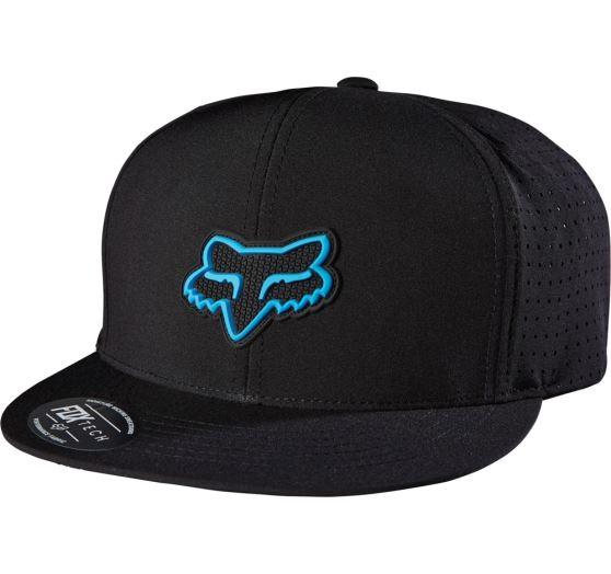 Pánská čepice Fox Racing Wallace Snapback Hat Black