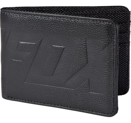 Pánská peněženka Fox Racing Realist Wallet Black