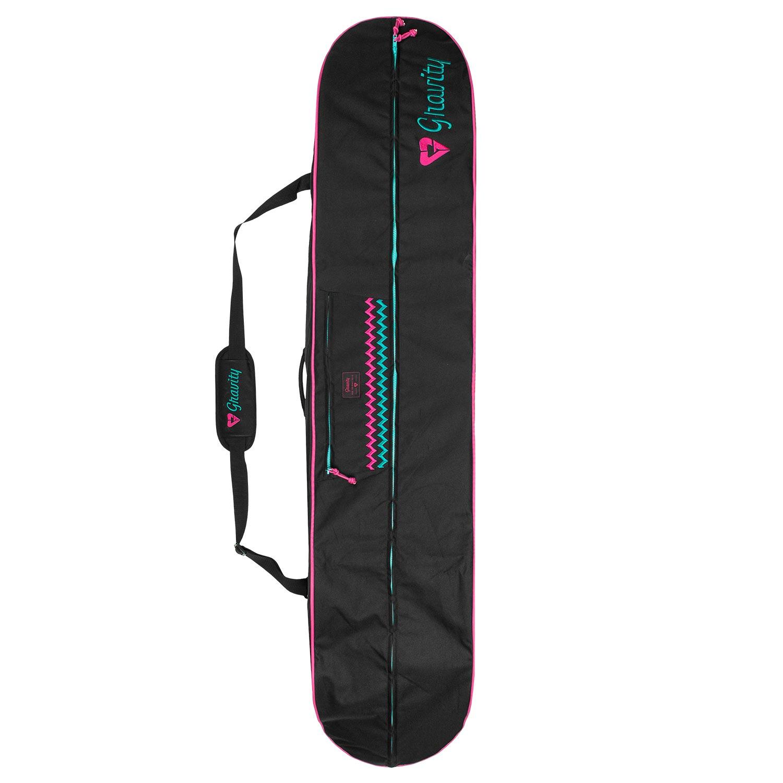 Obal na snowboard Gravity Rainbow black 160 cm