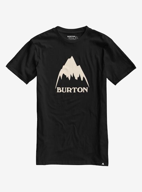 Pánské triko Burton MB CLSSMTNHGH SS TRUE BLACK S