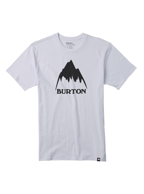 Pánské triko Burton MB CLSSMTNHGH SS STOUT WHITE L