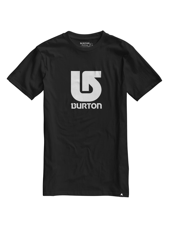 Pánské triko Burton MB LOGO VRTCL SS TRUE BLACK L