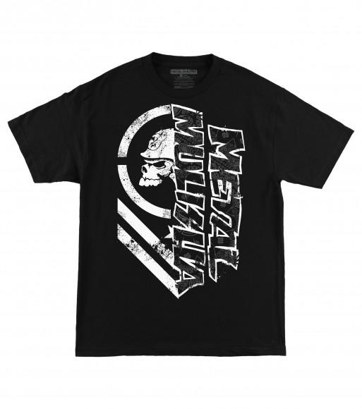 Pánské triko Metal Mulisha BURN - černé L