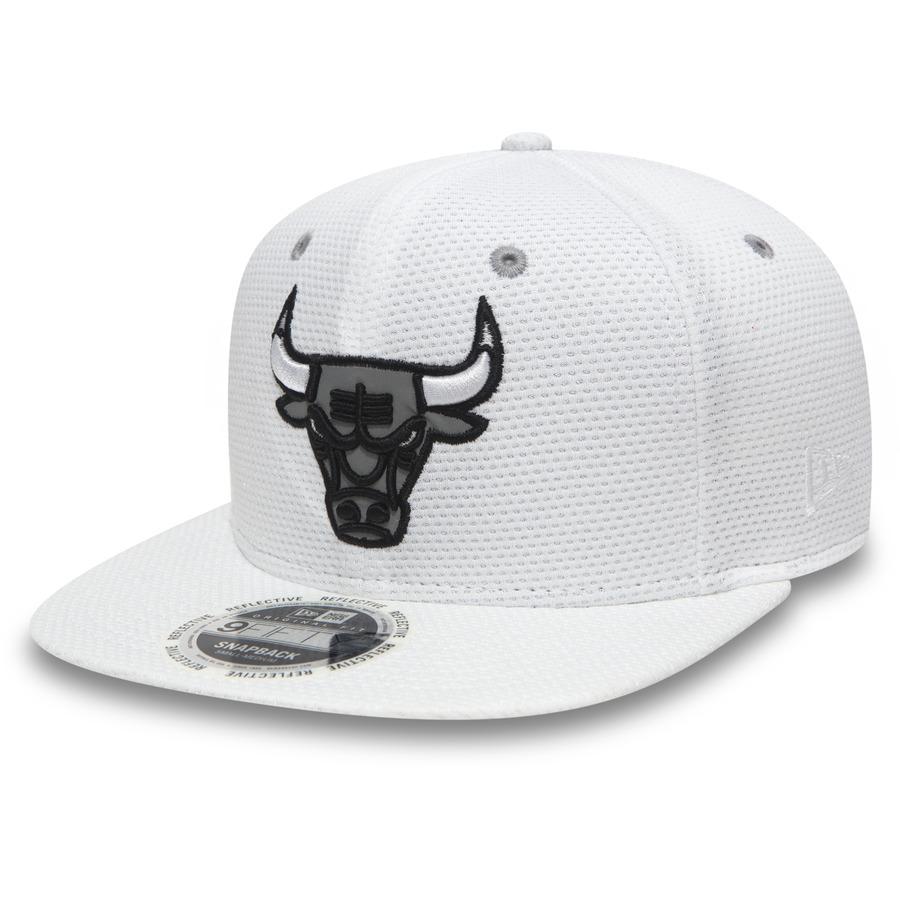 Kšiltovka New Era 950 NBA Reflective Chicago Bulls White S/M